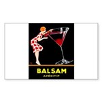 Balsam Aperitif Sticker (Rectangle 50 pk)