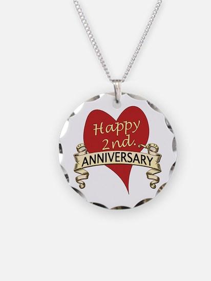 Unique 2nd anniversary Necklace