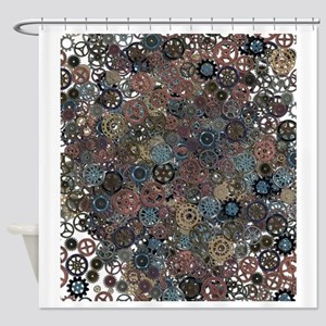 Lots of Gears Shower Curtain