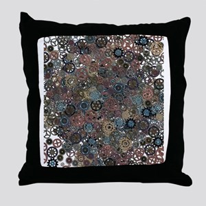 Lots of Gears Throw Pillow