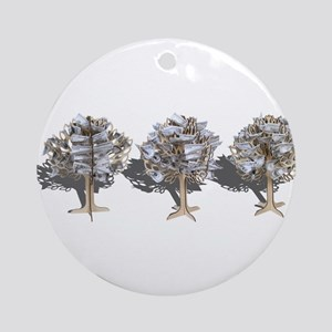 Money Trees Ornament (Round)