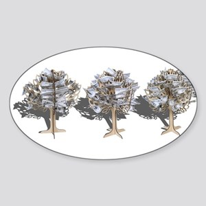 Money Trees Sticker (Oval)