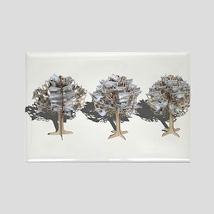 Money Trees Rectangle Magnet