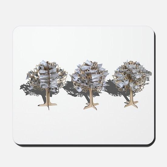 Money Trees Mousepad