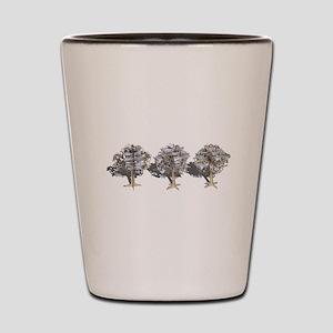 Money Trees Shot Glass