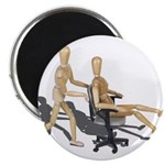 Office Chair Race Magnet