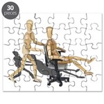 Office Chair Race Puzzle