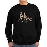 Office Chair Race Sweatshirt (dark)