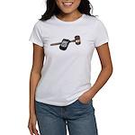 Police Badge and Gavel Women's T-Shirt