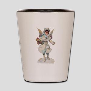 Christmas Angel Shot Glass