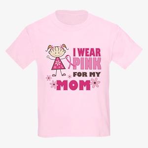Wear Pink 4 Mom Kids Light T-Shirt