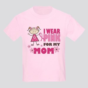 Wear Pink 4 Mom Kids Light T-Shirt
