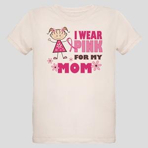 Wear Pink 4 Mom Organic Kids T-Shirt