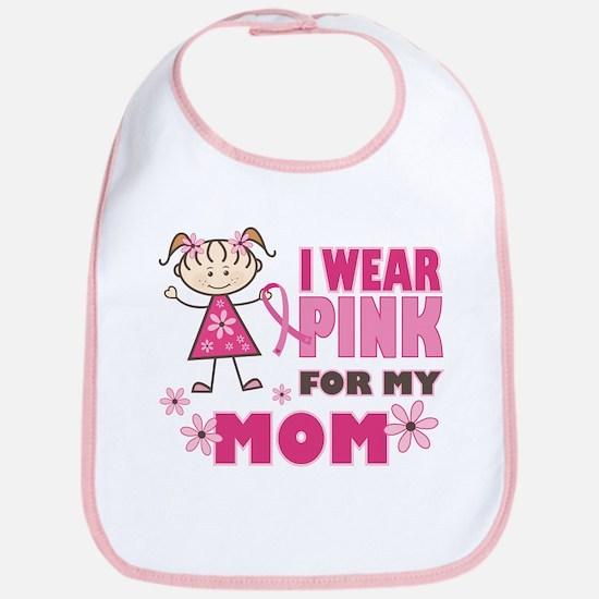 Wear Pink 4 Mom Bib