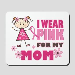 Wear Pink 4 Mom Mousepad