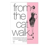 Catwalk Postcards (Package of 8)
