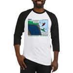 Kayaking Adventure Baseball Jersey