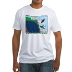 Kayaking Adventure Fitted T-Shirt