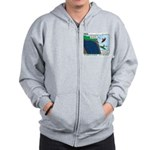 Kayaking Adventure Zip Hoodie