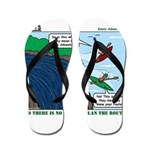 Kayaking Adventure Flip Flops