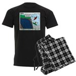 Kayaking Adventure Men's Dark Pajamas