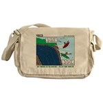 Kayaking Adventure Messenger Bag
