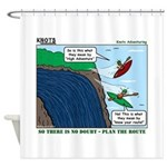 Kayaking Adventure Shower Curtain