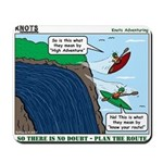 Kayaking Adventure Mousepad