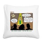 KNOTS Star Square Canvas Pillow