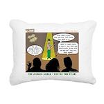 KNOTS Star Rectangular Canvas Pillow