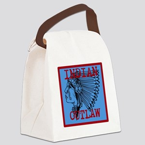 indian outlaw Canvas Lunch Bag