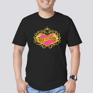 KPOP PRINCESS Men's Fitted T-Shirt (dark)