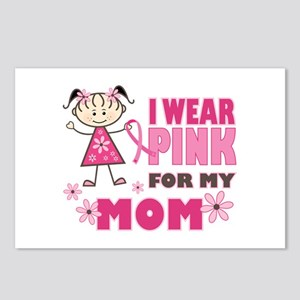 Wear Pink 4 Mom Postcards (Package of 8)