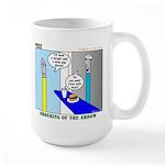 Ordering of the Arrow Large Mug