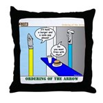 Ordering of the Arrow Throw Pillow