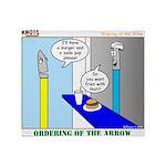 Ordering of the Arrow Throw Blanket