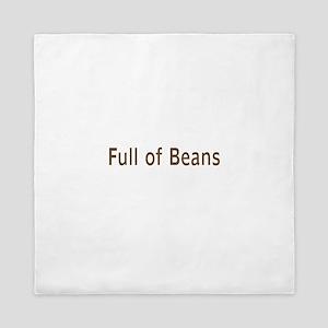 Full Of Beans Queen Duvet