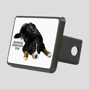 Berner Rug Pose - Rectangular Tow Hitch Cover
