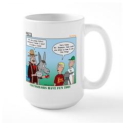 Surveying Large Mug