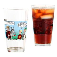 Surveying Drinking Glass