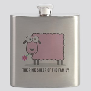 CRAZYFISH pink sheep Flask