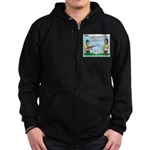 Rifle Shooting Zip Hoodie (dark)
