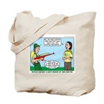 Rifle Shooting Tote Bag