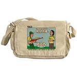 Rifle Shooting Messenger Bag