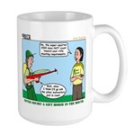 Rifle Shooting Large Mug
