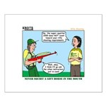 Rifle Shooting Small Poster