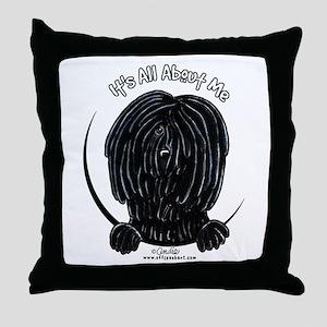 Puli IAAM Throw Pillow