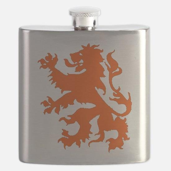 Dutch Lion Flask