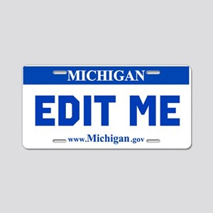Current Michigan License Plate Replica