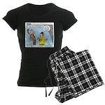 Model Building Women's Dark Pajamas